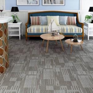 Carpet Pattern SPC Luxury interlocking Flooring Tile