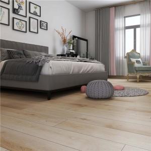 Factory wholesale Golden Oak Laminate Flooring - Waterproof Light Wood Looking Rigid Core Flooring – TopJoy