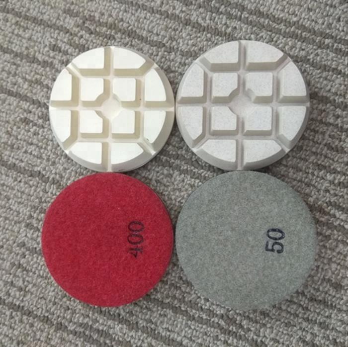 3inch concrete polishing pads for dry polishing
