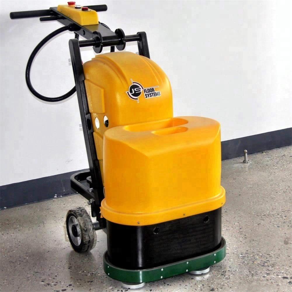 dual heads gear driven floor grinder