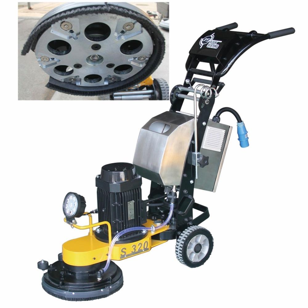 S320 Marble Cleaning Terrazzo Floor Grinding Machine Concrete Floor Edge Grinder