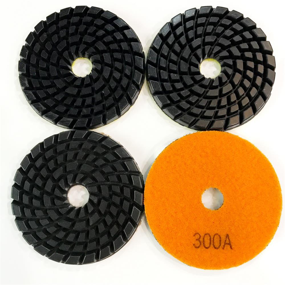 DT002 Concrete Polishing Tool 4 Inch 7.5mm Wet Polishing Pad