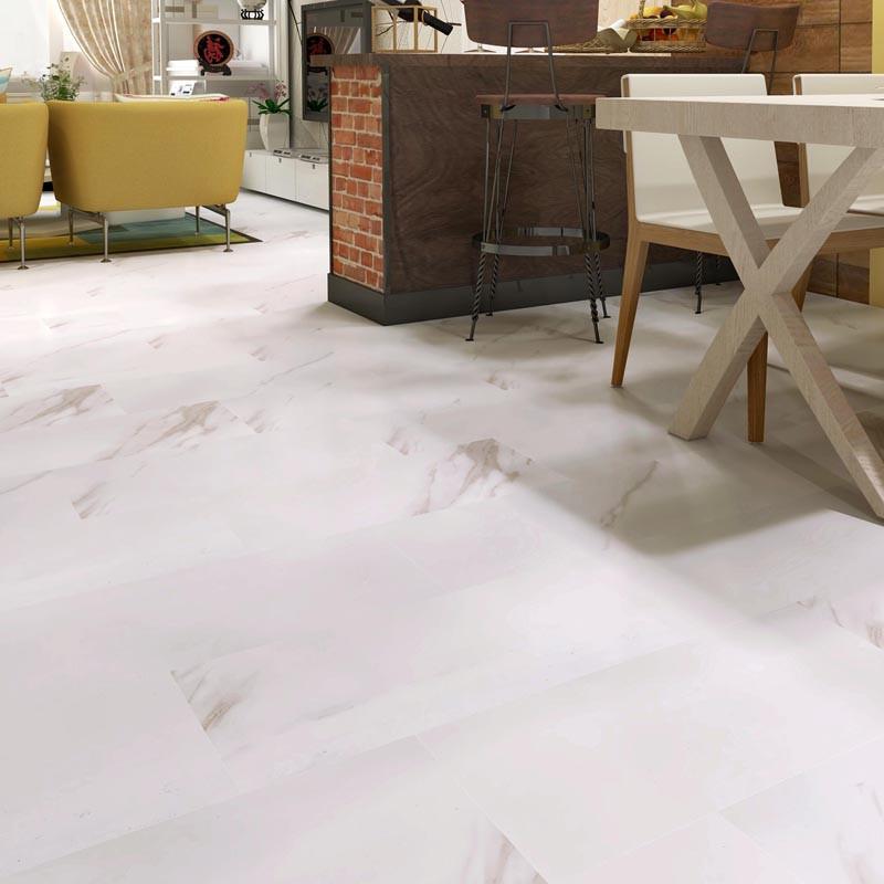 Glossy Marble color SPC Vinyl Plank