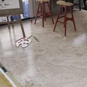Factory best selling Balcony Floor Tiles - Stone pattern SPC RIGID CORE PLANK – TopJoy