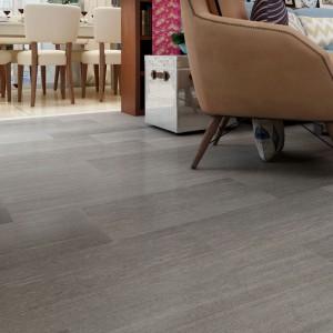 Good Quality Vinyl Click Flooring - Elegant Grey Glossy Marble Stone Design Rigid Vinyl Tile  – TopJoy