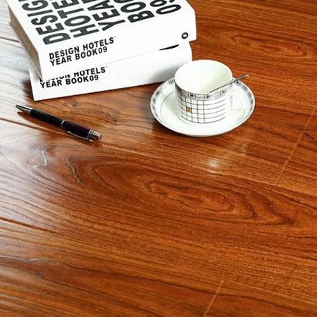 U Groove Hand Scraped Surface Laminate Flooring