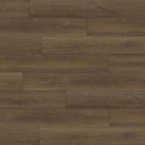 Brown Oak SPC Flooring with IXPE Pad