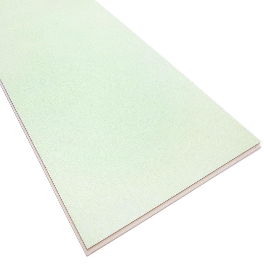 Slip Resistance Pure Green Luxur Vinyl SPC Flooring Tile