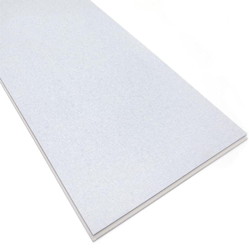 White Color Quick Locking Installation System SPC Laminate Flooring